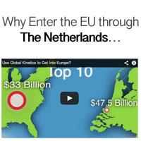 EU through The Netherlands…