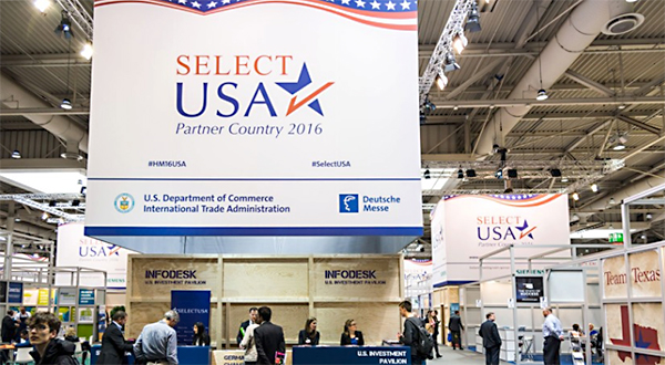 U.S. Investment Pavilion - Hall 3, Stand F04/8